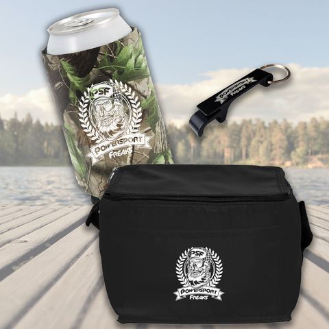 Buy a PSF 6 Pack Cooler, Get a PSF Camo Beer Koozie & Keychain FREE