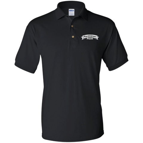 Powersport Freaks Banner Logo Polo Shirt