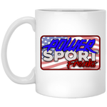 Powersport Freaks Vintage Patriotic Logo Coffee Mug