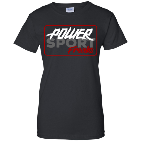 Powersport Freaks Women's Vintage Logo T-shirt