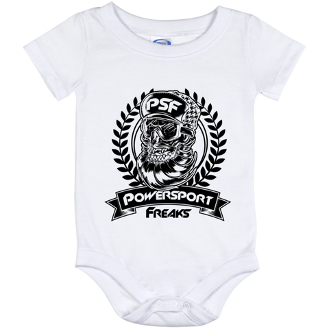 Powersport Freaks Skull Logo Baby Onesie 12 Month