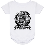 Powersport Freaks Skull Logo Baby Onesie 24 Month
