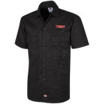 Powersport Freaks Classic Logo Dickies Men's Short Sleeve Workshirt