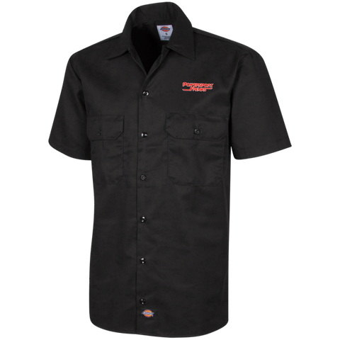 PSF CLASSIC LOGO DICKIES MEN'S SHORT SLEEVE WORKSHIRT