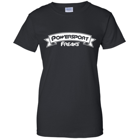 Powersport Freaks Women's Banner Logo T-shirt
