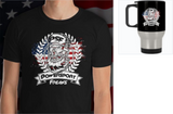 Buy a PSF Patriotic Tee & Get a PSF Patriotic Stainless Travel Mug FREE
