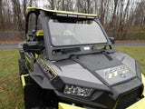 Axiom Front Windshield for 2014 - 2019 Polaris RZR 900, 1000 & Turbo