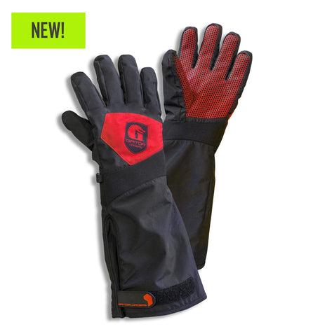 Gator Waders Men's Scout Series Gloves - Red