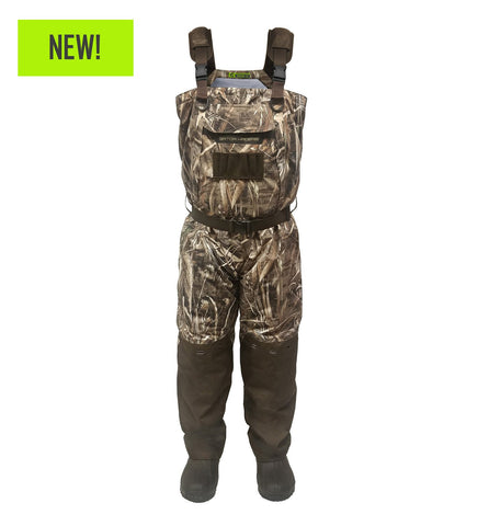 Gator Waders Men's Shield Series uninsulated Breathable Waders - Realtree Max-5
