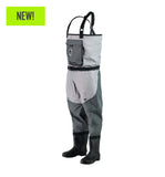 Gator Waders Men's Swamp Series 2.0 Uninsulated Breathable Waders - Black