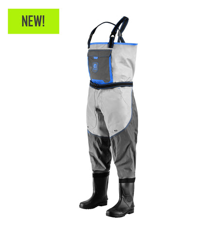 Gator Waders Men's Swamp Series 2.0 Uninsulated Breathable Waders - Blue