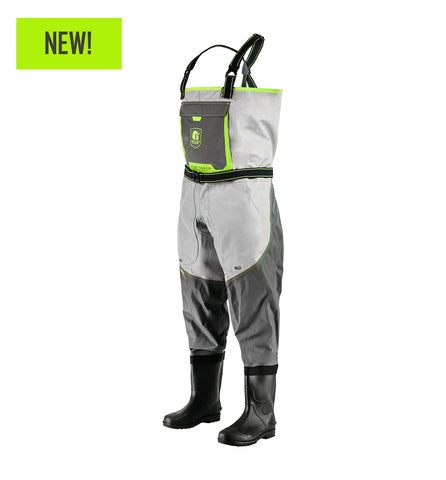 Gator Waders Men's Swamp Series 2.0 Uninsulated Breathable Waders - Lime