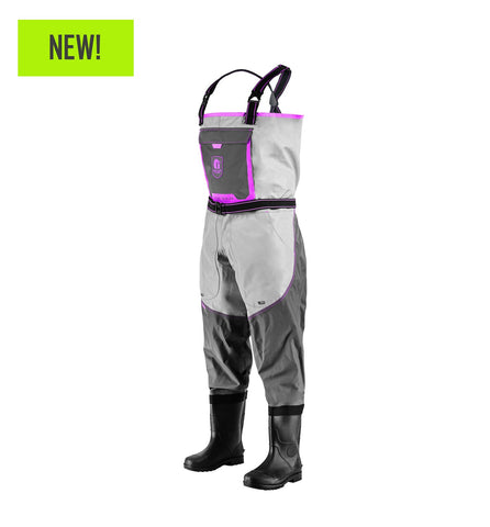 Gator Waders Women's Swamp Series 2.0 Uninsulated Breathable Waders - Pink