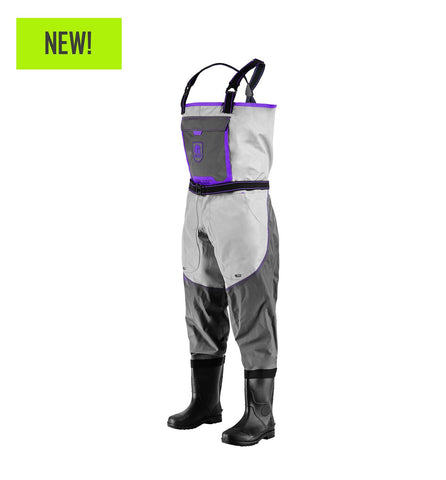 Gator Waders Women's Swamp Series 2.0 Uninsulated Breathable Waders - Purple