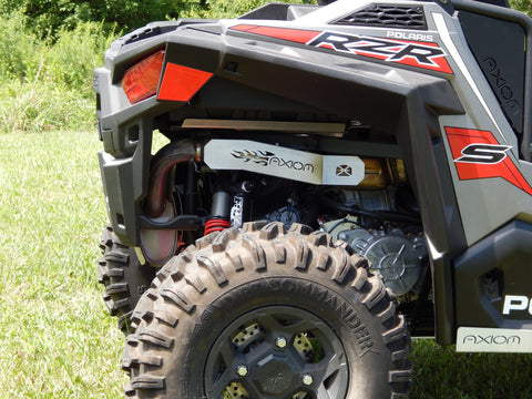 Polaris 900 & S 1000 Exhaust Cover - Axiom