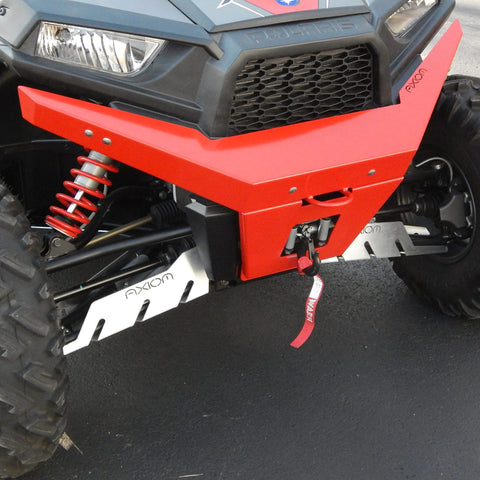 Axiom Front Bumper W/ Bash Plate - Polaris RZR