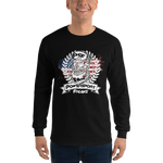 Long Sleeve Powersport Freaks Patriotic Logo Shirt