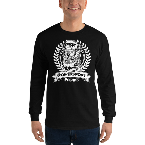 Powersport Freaks Skull Logo Long Sleeve Shirt