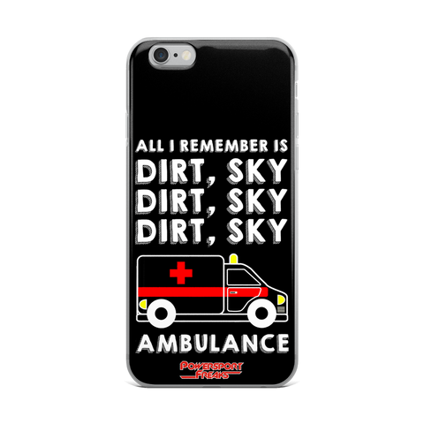 Dirt Sky Ambulance Phone Case - iPhone 6 Plus / 6s Plus
