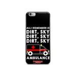Dirt Sky Ambulance Phone Case - iPhone 6 / 6s