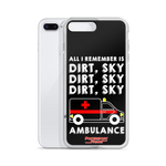 Dirt Sky Ambulance Phone Case - iPhone 7 Plus / 8 Plus