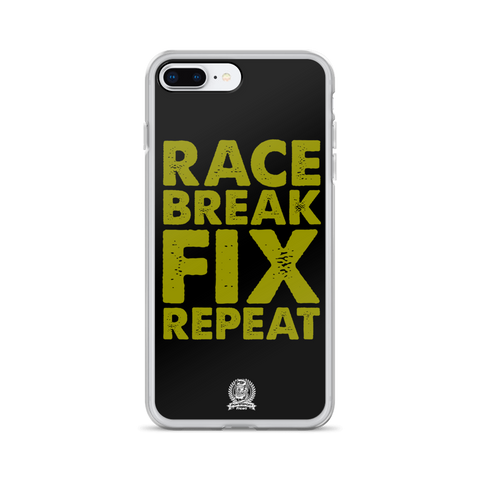 Race Fix Break Repeat Phone Case - iPhone 7 Plus / 8 Plus
