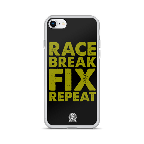 Race Fix Break Repeat Phone Case - iPhone 7 / 8