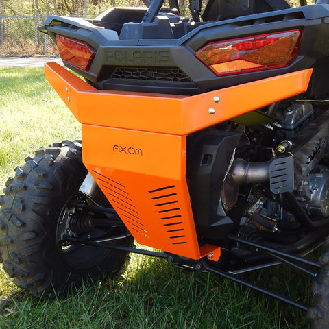 Axiom Rear Bumper - Polaris RZR XP 1000