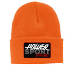 Safety Orange PSF Vintage Logo Beanie