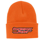 Safety Orange PSF Original Logo Beanie