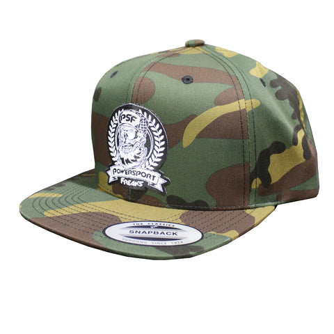 PSF Skull FULL Camo Trucker Hat