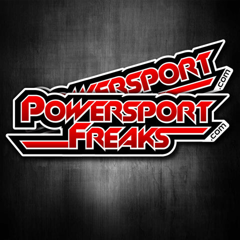 PowersportFreaks.com Stickers (Set of 2)