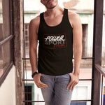 PSF Retro Logo Men's Tank Top - Black