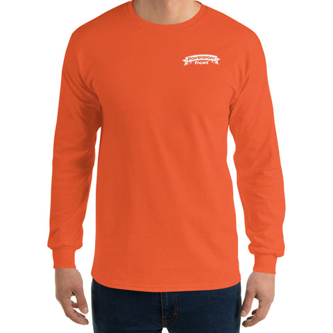 Safety Orange PSF Logo Long Sleeve Shirt