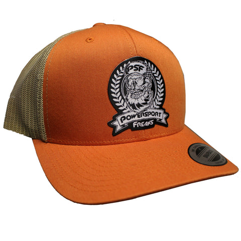 PSF Skull Logo Hat - Orange
