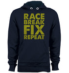 Race, Break, Fix, Repeat Hoodie
