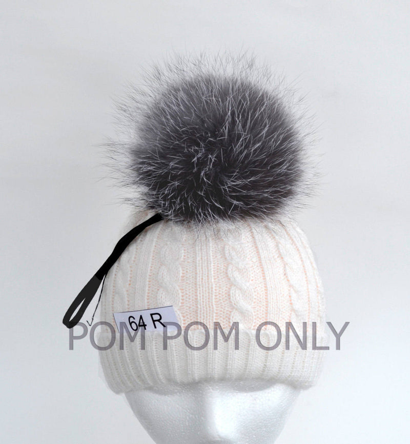 RARE! BLUE FROST Fox Pompom! Fox Fur Pom-Pom, Unique Fox Pom Pom, Fur Pom Pom, Real Fur, Pom Pom for Hat, Knitted, Children, Cap, Beanie