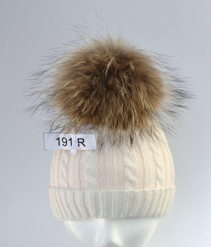 "8,5"" RACCOON POM POM! Real Raccoon Fur Pom-Pom, Large Fur Pom Pom, Large Pom Pom, Fur Pom Pom Hat, Raccoon Fur, Knitted hat, Women, Pompom"