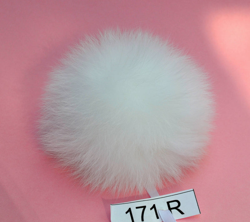 fur pom pom for beanie
