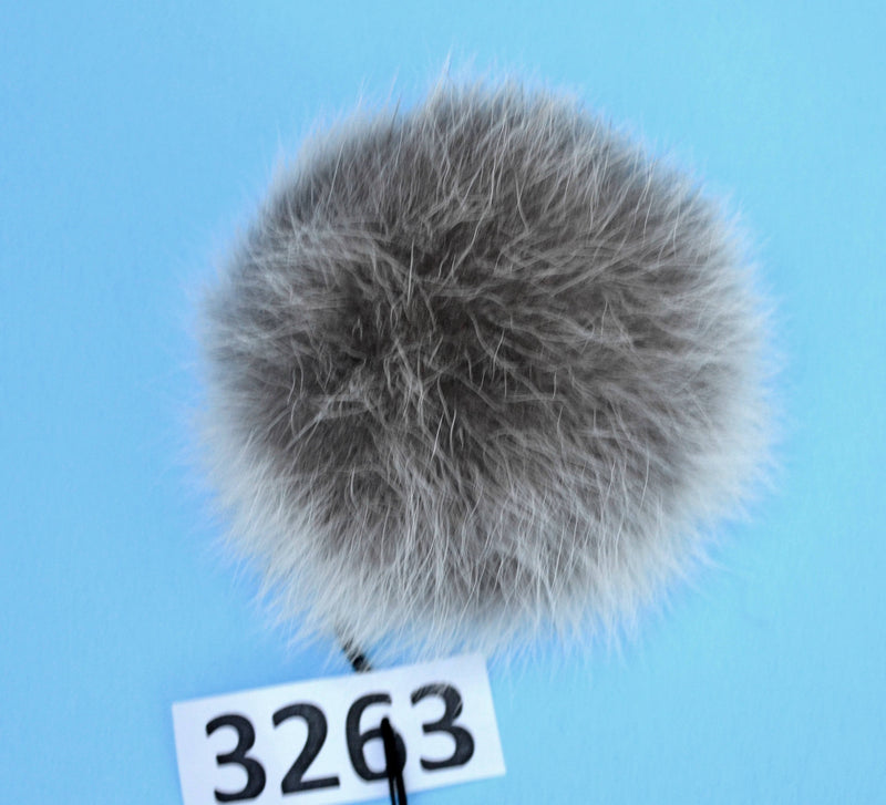 fur pom pom for hat