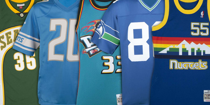 Top 7 Mitchell & Ness Jerseys from Rep the Squad