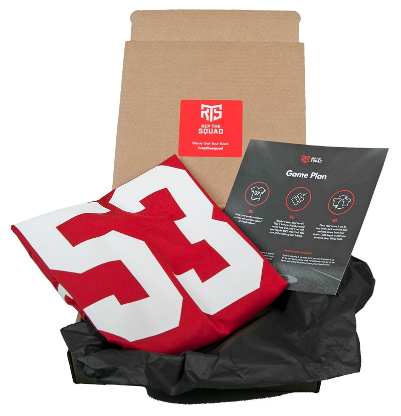 49ers jersey package