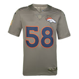 Youth Denver Von Miller Nike Salute to Service Limited Jersey