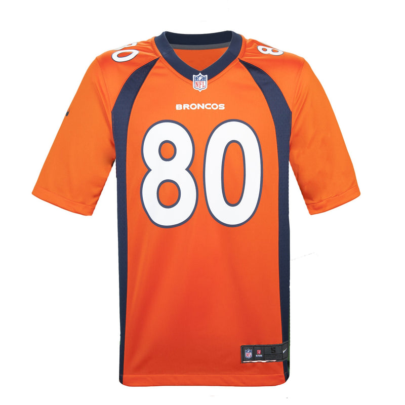 Adult Denver Jake Butt Nike Orange Game Jersey
