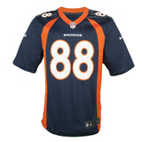 Adult Denver Demaryius Thomas Nike Navy Game Jersey