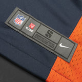 Adult Denver John Elway Nike Navy Game Jersey
