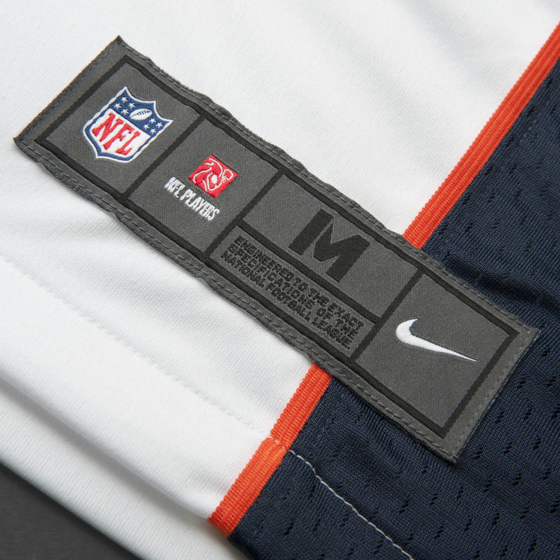 Adult Denver Trevor Siemian Nike White Game Jersey