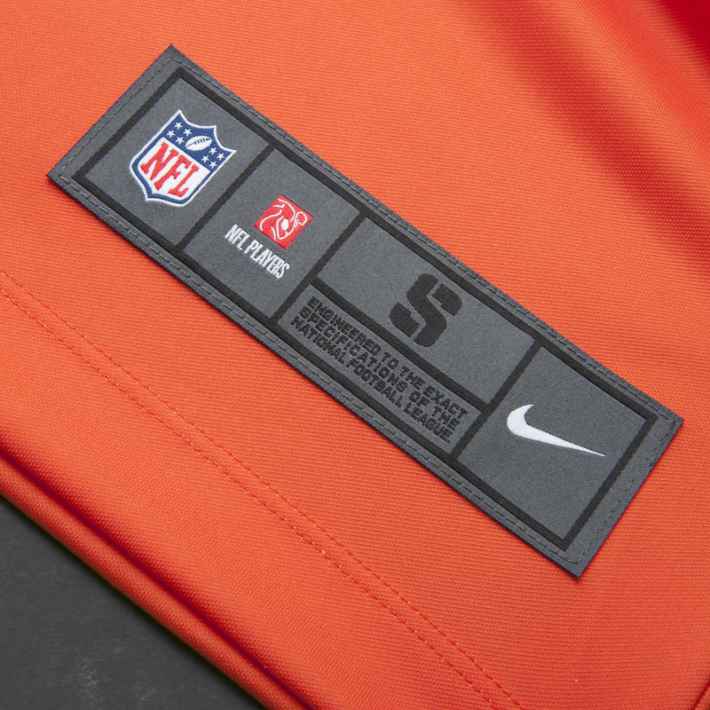 Adult Denver Chris Harris Jr Nike Orange Crush Color Rush Legend Jersey