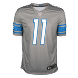 Adult Detroit Marvin Jones Jr. Nike Silver Color Rush Legend Jersey