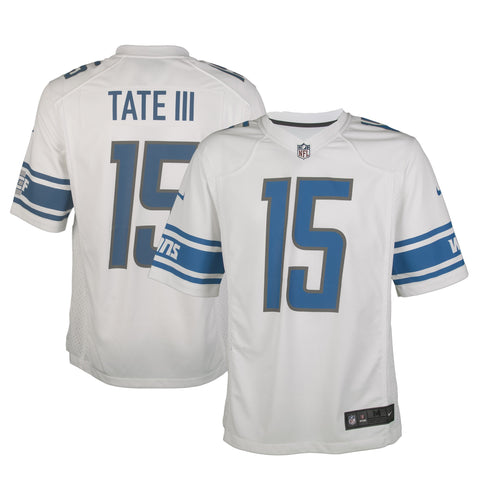 Adult Detroit Golden Tate Nike White Game Jersey